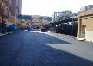 """""""طرق الإسكندرية"""": رصف المناطق الشعبية والمحاور"""