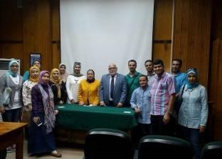 """""""علوم الإسكندرية"""" تستقبل وفد مركز المعلومات والتوثيق ودعم اتخاذ القرار"""