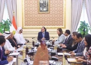 """وزير إماراتي لـ""""مدبولي"""": مصر وجهة الاستثمار المفضلة لدينا"""