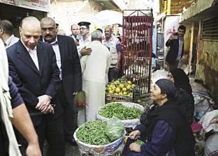 «القاهرة والجيزة»: 20 سوقاً حضارية فى المناطق الشعبية والعشوائية لاستيعاب الباعة الجائلين
