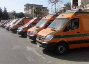 """مصدر بـ""""الصحة"""": إصابة 8 في انقلاب سيارة ربع نقل """"محملة بأفراد"""" بالفيوم"""