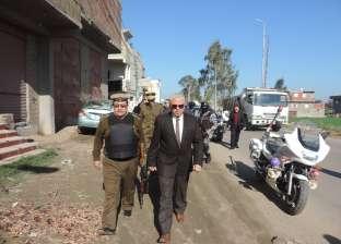 مدير أمن البحيرة يتفقد الخدمات الأمنية بمركزي حوش عيسى وأبو المطامير