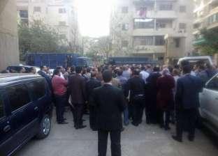 """احتواء أزمة """"المحامين"""" في السادات وفض اعتصامهم بعد نقل الضابط المتسبب في الأزمة"""