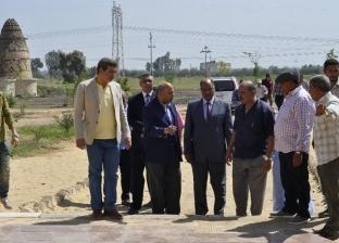 """""""البيت الأخضر"""".. صحراء جرداء تحولها جامعة المنيا لحدائق مبهجة"""