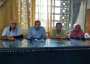 رئيس مدينة كفر الشيخ يوجه برفع مستوى النظافة والاستعداد للعام الدراسي