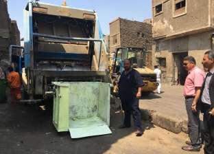 رئيس حي الزيتون يشكر مواطن ابتكر طريقة لتسهيل عمل عمال النظافة