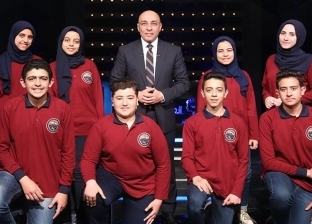 """طلاب """"عمر الفاروق"""" الفائزون بـ""""العباقرة"""" لـ""""الوطن"""": """"اعتبرناه مغامرة"""""""