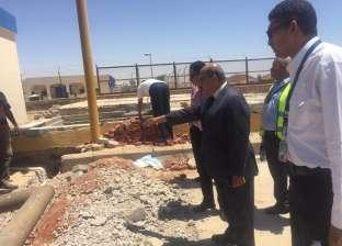 رئيس مصر للطيران للخدمات الأرضية يتفقد مطار أسوان الدولي
