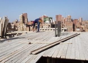رئيس حي ثان المحلة يوجه بفك وإزالة أدوار مخالفة ببرج سكني بشارع البحر