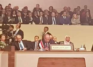 شكري يؤكد على أهمية العمل العربي لتحقيق التنمية العربية الشاملة