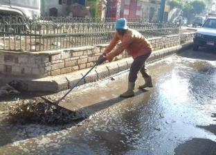 مياه الأمطار تُغرق كفر الشيخ.. والمحافظ يوجه بشفطها وغلق بوغاز البرلس