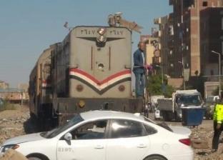 """مصرع طالب سقط من باب عربة قطار """"طنطا دسوق"""""""