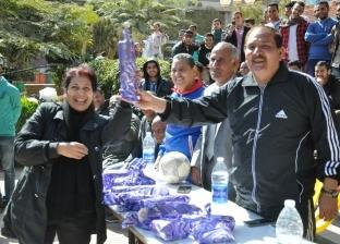 يوم رياضي ترفيهي للعاملين بكلية الزراعة بجامعة المنيا