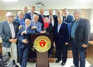 بدء البرنامج القومي لجمعية القلب المصرية لتدريب التمريض والفنيين بجامعة القناة