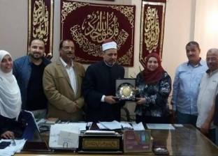 رئيس الإسكندرية الأزهرية يكرم إدارة الجودة ومدير التعليم النموذجي