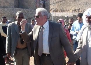"""محافظ جنوب سيناء يتفقد """"ميدان أفريقيا"""" في شرم الشيخ"""