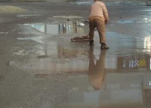 بالصور| هطول أمطار غزيرة على سواحل دمياط