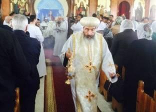 الأنبا تادرس يفتتح كنيسة القديسين أنطونيوس وبولا في بورسعيد