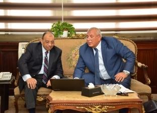 شعراوي والزملوط يبحثان معوقات تنفيذ الخطة الاستثمارية بالوادي الجديد