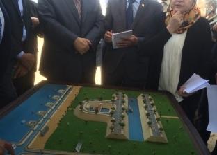لجنة مجلس الوزراء تتفقد مشروع تنقية مياه بحيرة قارون بالفيوم