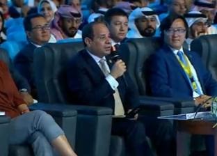 السيسي: لم تكن بمصر دولة تفكر في بناء دور عبادة سوى المساجد