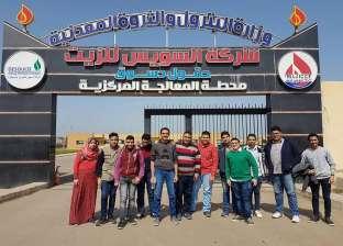 طلاب مدرسة العدوى في بورسعيد يتبرعون لصندوق تحيا مصر
