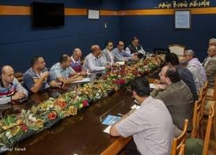 """""""ميناء دمياط"""" يجتمع بأصحاب التوكيلات الملاحية لمناقشة انتظام التداول"""