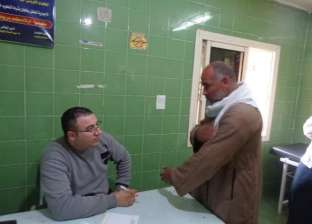 الكشف المجاني على 250 من أهالي كفر عشما في قافلة لجامعة المنوفية