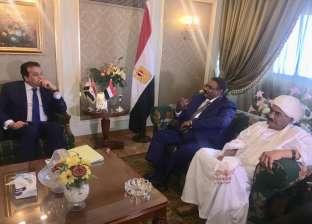 وزير التعليم العالي يلتقي نظيره السوداني لبحث التعاون العلمي