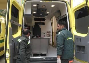 """إصابة 10 أشخاص في حادث انقلاب أتوبيس بطريق """"الزعفرانة - رأس غارب"""""""