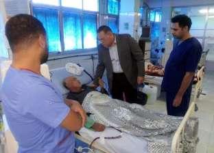محافظ الشرقية يزور مستشفى الصالحية الجديدة استجابة لشكوى مواطن