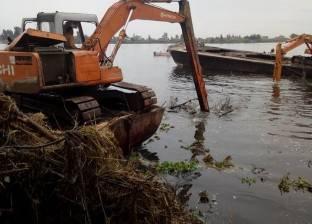 """رئيس """"فوه"""" بكفر الشيخ يُثمن جهود إزالة التعديات على النيل"""