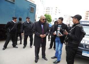 مدير أمن مطروح يتفقد مجمع المحاكم ونقطة شرطة سوق ليبيا وقوات الأمن
