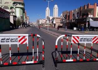 إغلاق الطرق الصحراوية بين الأقصر والمحافظات لسوء الأحوال الجوية