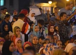 بالصور| إحياء الذكرى الرابعة لثورة 30 يونيو في ميدان عابدين