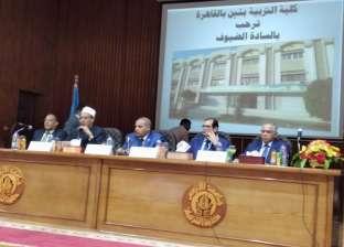 """نائب رئيس جامعة الأزهر لـ""""الدراسين"""": أنتم طلاب علم تحفكم الملائكة"""