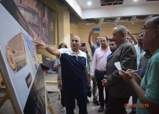 صور.. محافظ البحر الأحمر يتفقد متحف آثار الغردقة