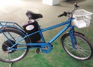 """""""أوفر ماركت"""" يطرح أول دراجة كهربائية مصنوعة فى الصعيد"""