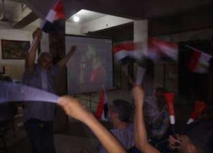 أبناء كفرالشيخ يحتفلون بفوز مصر في افتتاح أمم أفريقيا بعد هدف تريزيجيه