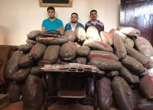 """الأمن العام يضبط 99 طنا من مخدر """"البانجو"""" خلال 6 أشهر"""