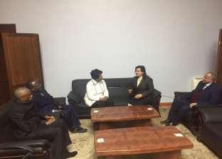 """""""محرز"""" تستقبل وزيرة الثروة السمكية الزامبية لبحث تعزيز التعاون"""