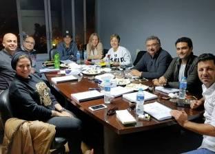 """مروان حامد يعقد آخر بروفات """"تراب الماس"""" قبل بدء التصوير في اليمن"""