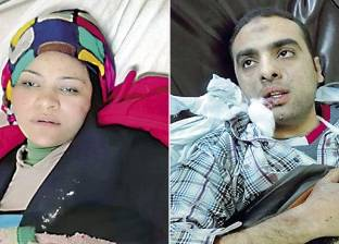 أهالى الضحايا فى مستشفى أم المصريين: أم تبكى ابنها.. وأخرى تدعو له بالشفاء
