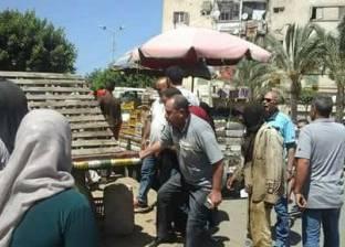 حملة مكبرة لرفع الإشغالات في دمياط