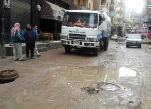 محافظ القاهرة يشيد بجهود شركة الصرف في مواجهة تجمعات الأمطار