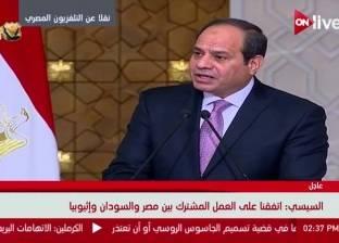 مصر تؤكد للسودان ضرورة إبقاء قنوات الاتصال.. والبشير: ليس لدينا أي خيار إلا التعاون