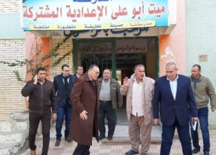 """جولة مفاجئة لمحافظ الشرقية لقريتي """"ميت أبو علي وكفر يوسف سلامة"""""""