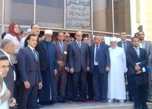 بالصور| جولة محافظ القاهرة بمستشفى الجمعية الشرعية للأورام والحروق