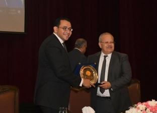"""""""القومي للسكان"""" يكرم رئيس جامعة القاهرة بحفل ختام مبادرة شباب مصر"""