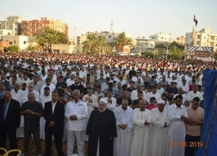 الآلاف يؤدون صلاة العيد في ساحات ومساجد شمال سيناء